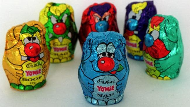 No not this type of Yowie.....