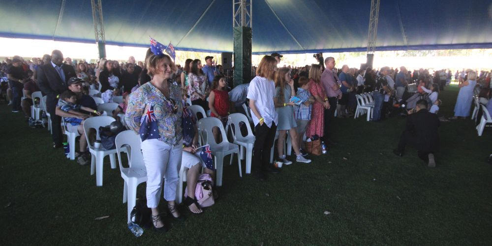 The City of Wanneroo's Australia Day ceremony.