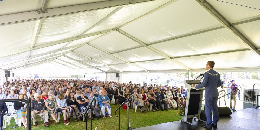 The 2019 City of Joondalup Australia Day citizenship ceremony. Picture: Stewart Allen