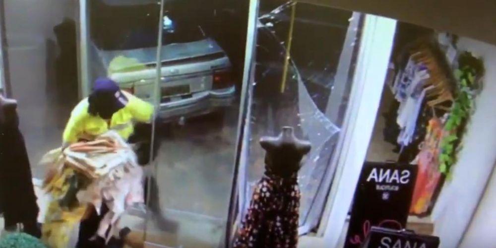 Subaru Of Claremont >> Ramraider gets stuck into dresses in Claremont overnight