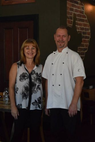 Chef & Co owners Yvonne Khan and Darren King.