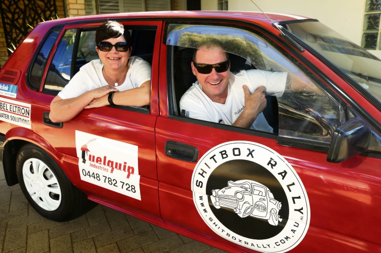 Trevor and Donna Mountford (Kingsley). Photo: Martin Kennealey