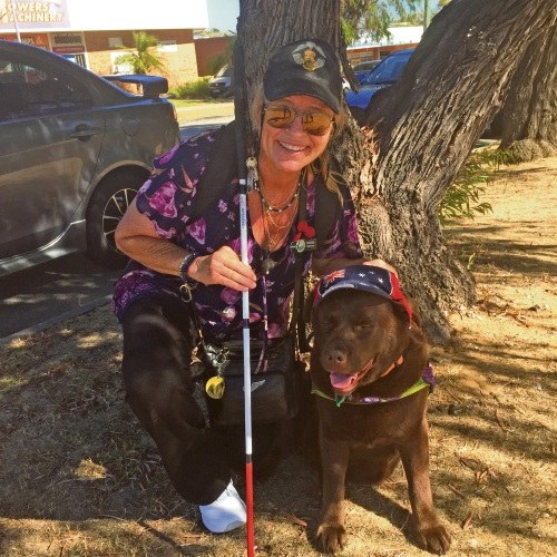 Mandurah: Billie is back on the streets with a new love