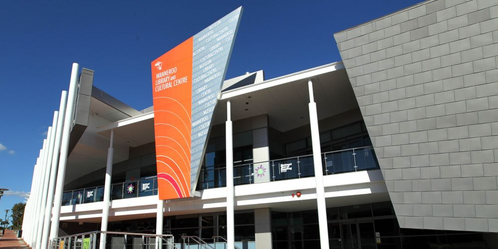 Wanneroo Library and Cultural Centre.