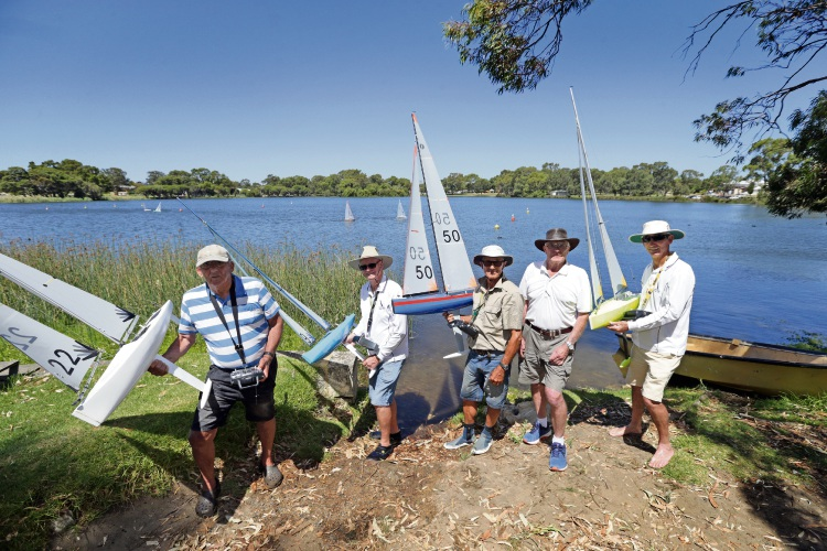 Woodlands: Perth radio sailors heading to national championships