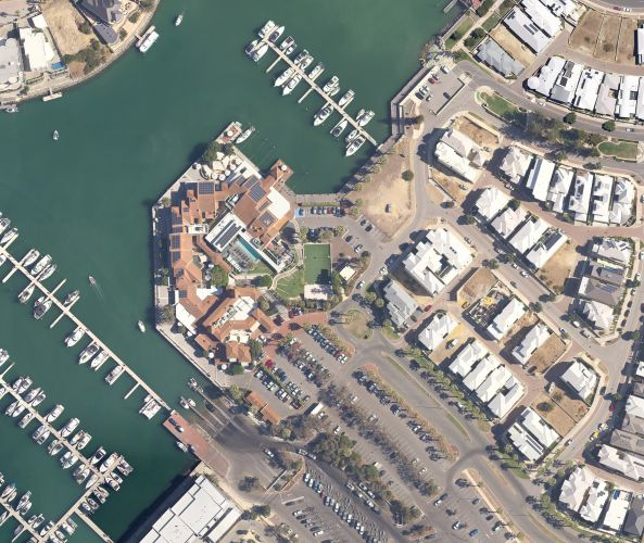 Mindarie marina precinct. PIcture: Spookfish