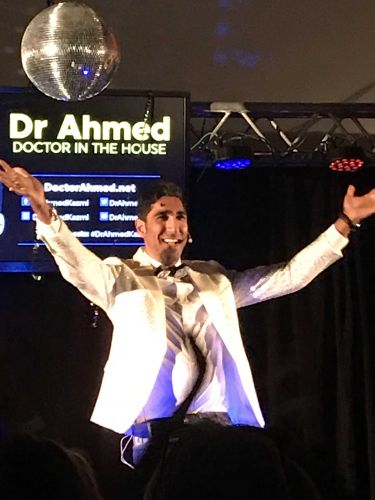 Dr Ahmed at his Rockingham show Doctor in the House.