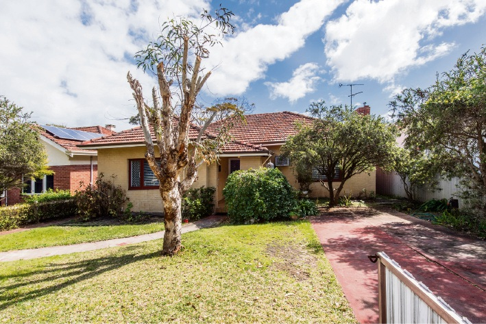 Close to all the action in Subiaco, this Daglish home attracted strong attention and sold to first-home buyers.