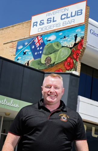 New Riverton RSL mural pays respect to the past and creates sense of identity