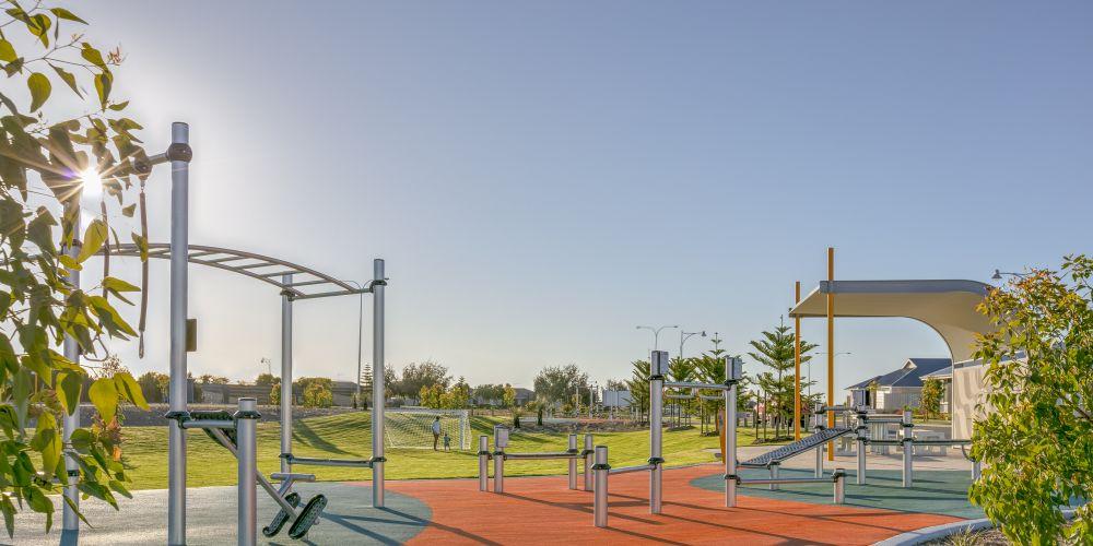 New Golden Bay park offers range of fitness equipment