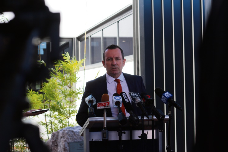Premier Mark McGowan believes a focus on ethics in industry will attract overseas investors.