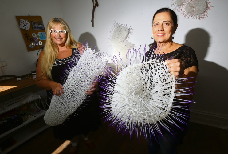 Ardross and Canning Vale inspired by ocean creatures for Sculpture by the Sea