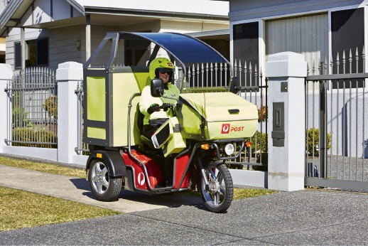 Australia Post has started rolling out electric vehicles.