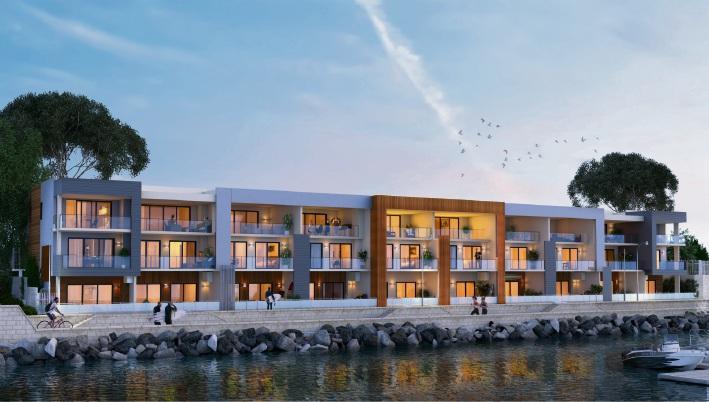 The Vivid Blu apartments at Mindarie.