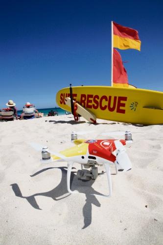 Mullaloo Surf Life Saving Club welcomes drone program