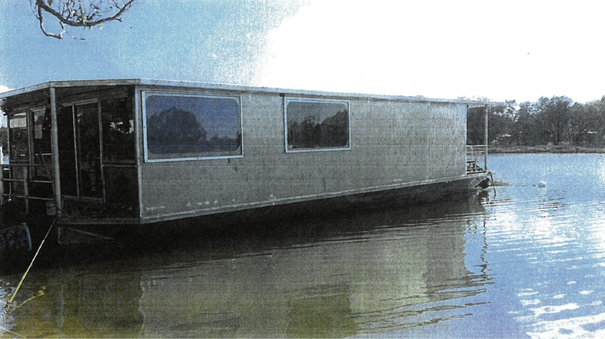 Graham Corp must relocate his houseboat from the Serpentine River.
