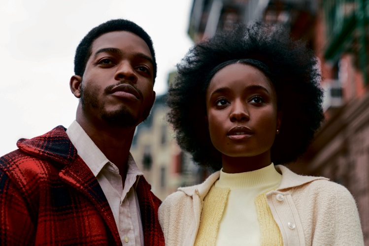 KiKi Layne as Tish and Stephan James as Fonny in If Beale Street Could Talk.