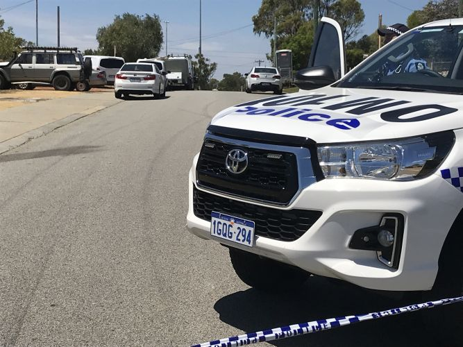 Homicide Squad Detectives investigate body found in Mandurah shed