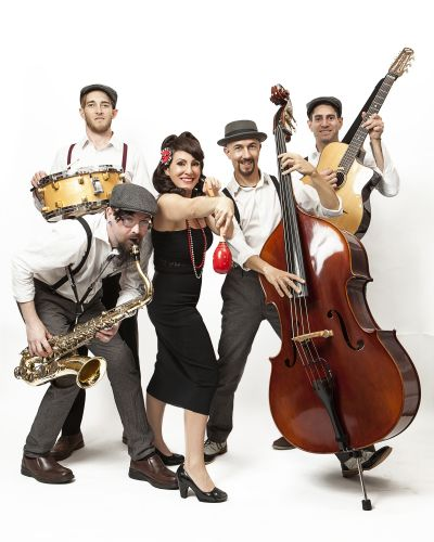 Swingin' at the Savoy will play jazz songs of the 1920's-1940's plus their own original songs at the Cale Street Festival.