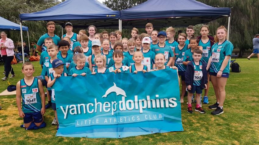 Yanchep Dolphins Little Athletics Club.