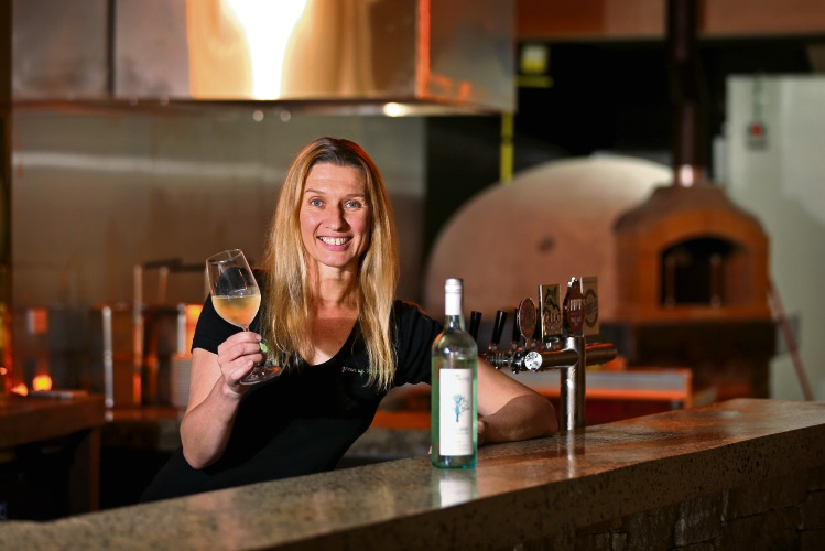 Michelle Glass (Owner, O2) looking forward to opening her new bar at O2 in Bassendean. Picture: David Baylis www.communitypix.com.au   d490950