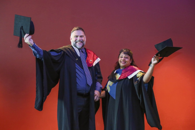 Shoalwater couple complete nursing degrees together