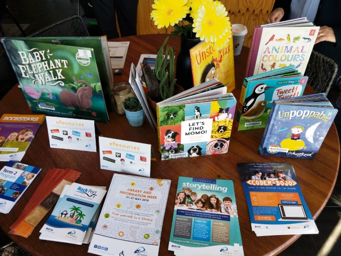 Pop Up Library events for Rockingham