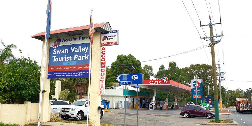Swan Valley Tourist Park. Picture: David Baylis.