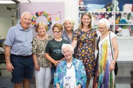 Hilton Park resident Marjorie Bostelman turns 100