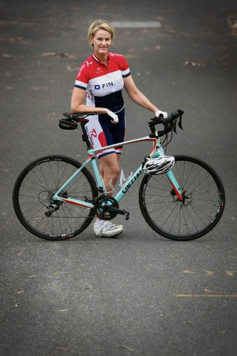 Hayley Lawrance is taking part in the upcoming Hawaiian Ride for Youth. Photo: Andrew Ritchie