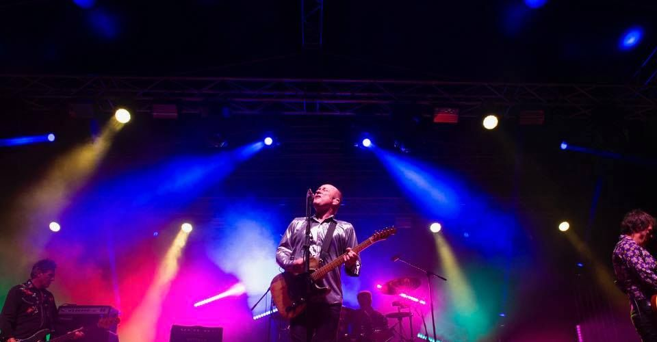 Dave Faulkner of Hoodoo Gurus performing at South Perth Sounds. Picture: City of South Perth