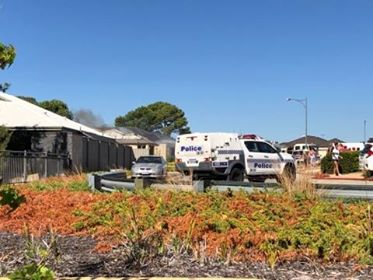 Wellard road closures after house fire