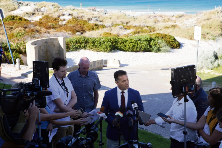 Trigg: Government announces World Surf League event staying in WA
