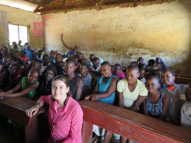 Mandurah student helps with reusable sanitary pad project in Uganda
