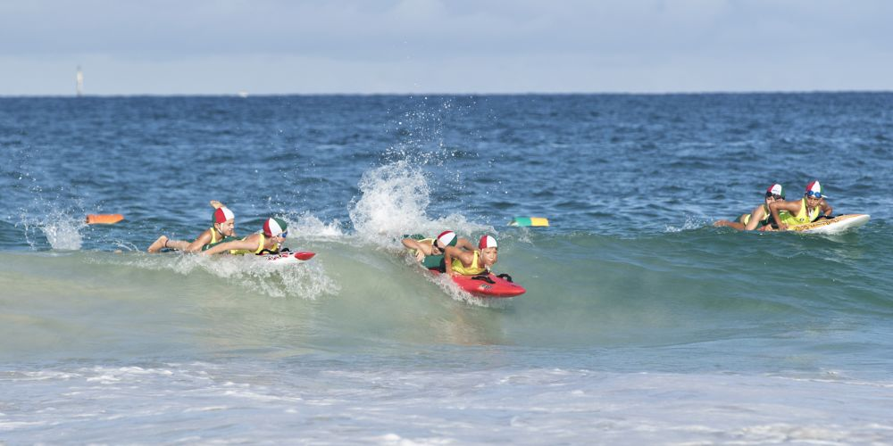 Trigg Island SLSC nippers Photo: Tony Bowers