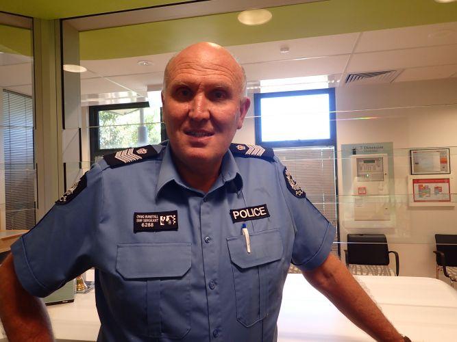 Scarborough Police Senior Sergeant Craig Wanstall