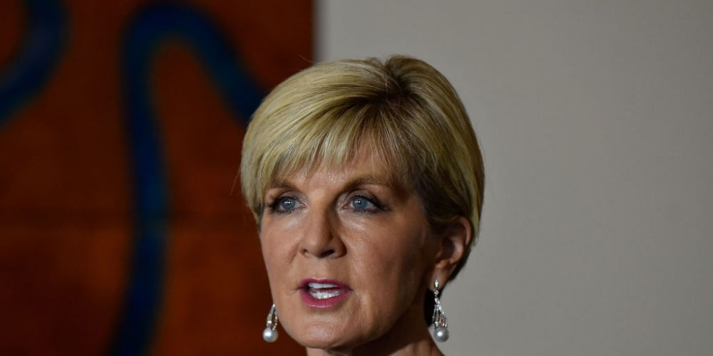 Julie Bishop announced she would quit politics at the upcoming election. Picture:   Michael Masters/Getty Images