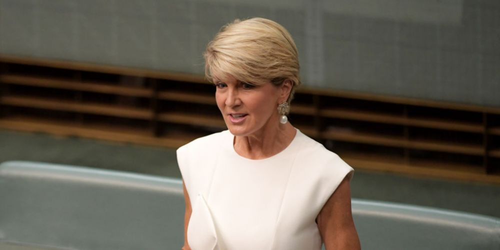 Julie Bishop's Curtin replacement has been revealed. Photo: Getty