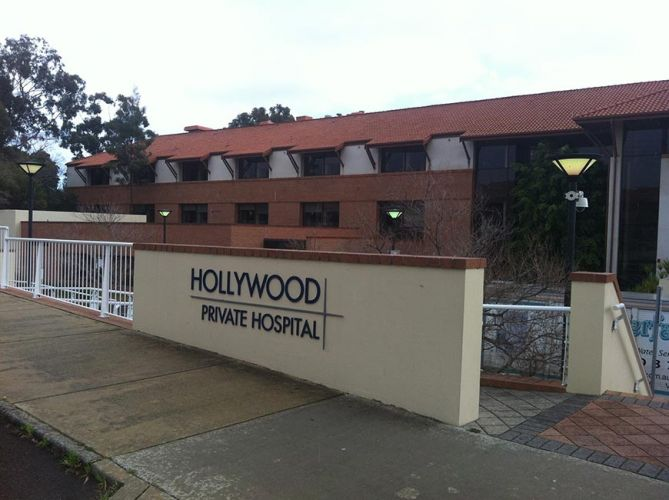 Hollywood Private Hospital. Photo: civilandgeneral.com.au