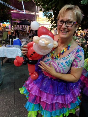 Baldivis business owner Rosina O'Neill fears she will not be allowed to do balloon twisting in City of Rockingham venues or on council parks if there is a blanket ban on balloons.