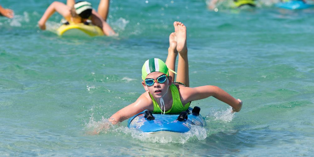 More than 1000 nippers, masters and country lifesavers will compete at Sorrento this weekend. Picture: Surf Life Saving WA
