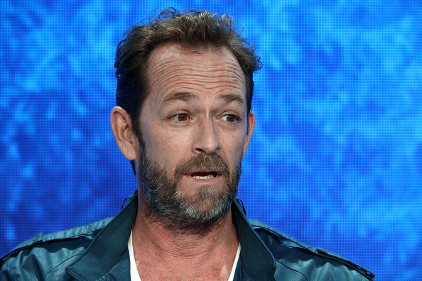 Actor Luke Perry. Photo: Getty