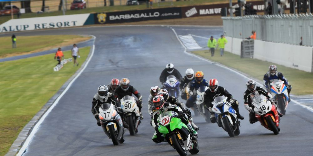 Motorbike racing is returning to Barbagallo Raceway. Picture: Barnsiesphotos