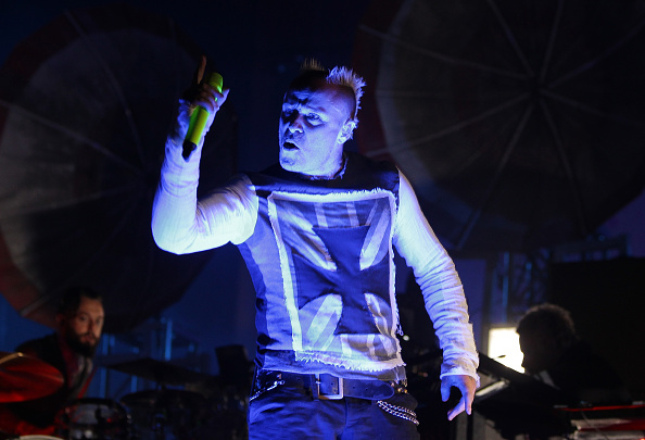Keith Flint performing in South Korea in 2015. Photo: Getty