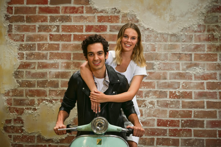 Romeo and Juliet - Poppy Lynch (20) of North Perth and Jonathan Lagudi (22) of Highgate. Picture: Andrew Ritchie d491160