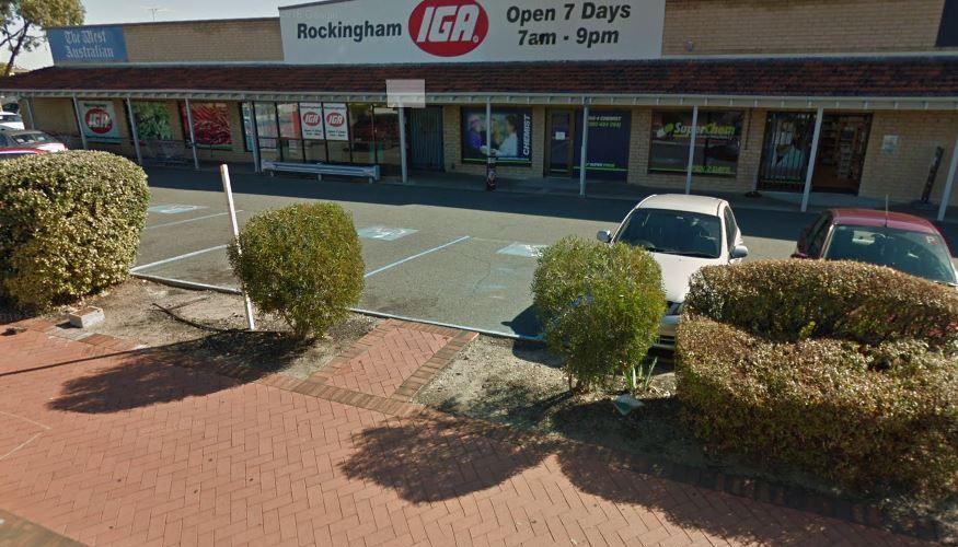 Rockingham IGA. Google Maps.