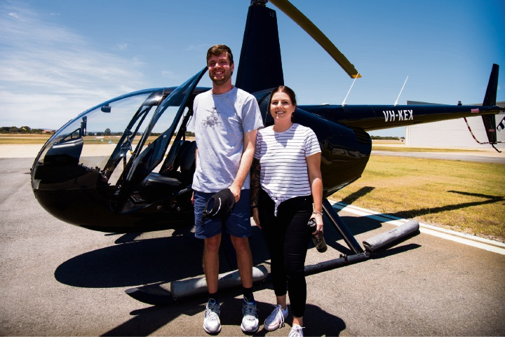 Sean Collins and Heather Harrower.