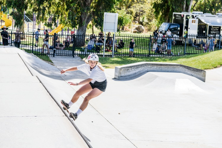Skate Park Festival Series attracts record number of girls