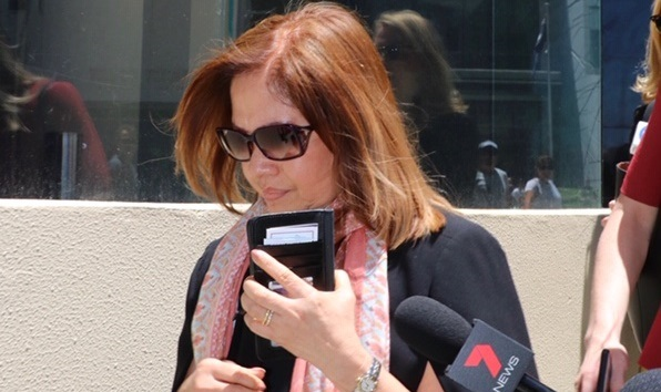Moe Moe Myint Kelly is facing 115 counts of stealing from the Northbridge business where she was responsible for its banking and finances. Picture: Anton La Macchia