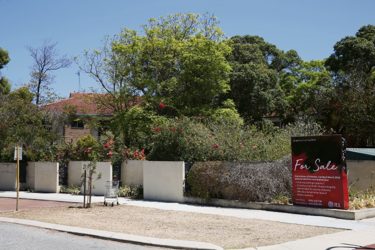 7-9 Field Street Mt lawley which is being proposed to be rezoned to R60. Photo: Andrew Ritchie
